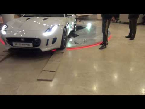 Подиум для автомобиля Jaguar