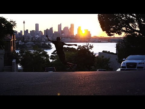 Longboarding in Australia: Eastern Suburbs