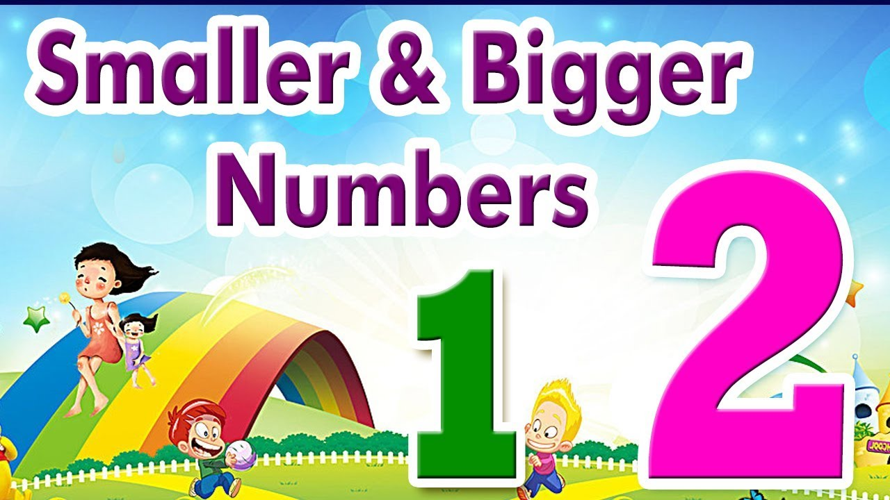 Basic Math For Kids| Smaller & Bigger Numbers | Science ...