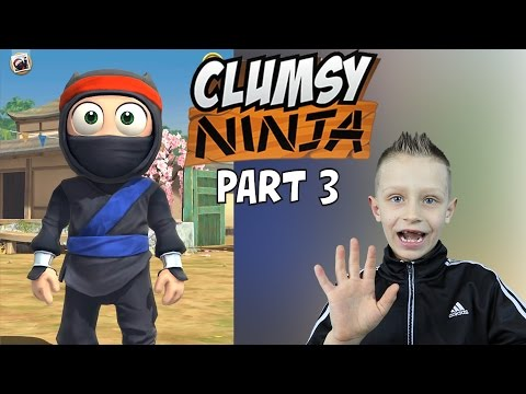 Clumsy Ninja #3 - ninja gets yellow belt and I take a photo with him :) | KID GAMING Android
