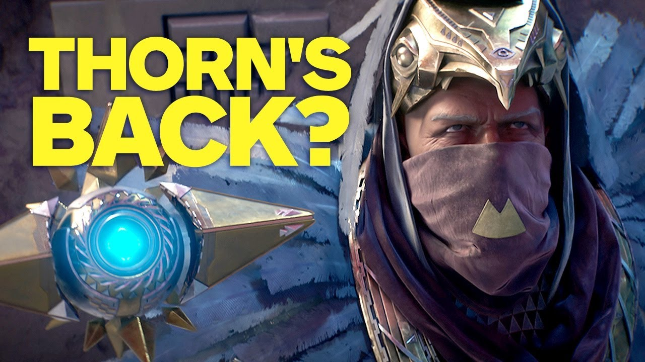Destiny 2: Is Thorn Coming Back in Osiris DLC?