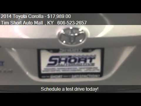 2014 toyota corolla for sale in corbin ky 40701 at the tim youtube. Black Bedroom Furniture Sets. Home Design Ideas