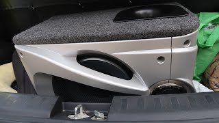 Removed Hand Made Woofer From My Car   New Woofer   My Car System Review   Bass Test   Audio Check