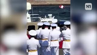 Военно-морской парад в честь Дня ВМФ в Санкт-Петербурге