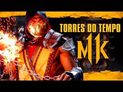 Mortal Kombat 11 - As NOVAS torres do tempo e o modo ARCADE gameplay thumbnail