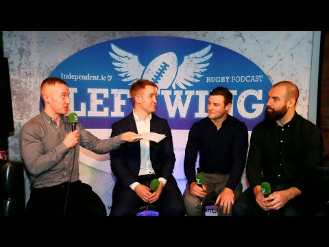 VIDEO: Robbie Henshaw, Scott Fardy & Luke Fitzgerald, on Ireland's Grand Slam chances