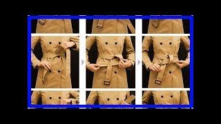 風衣腰帶系法圖解 簡單易學的腰帶系法還不快get