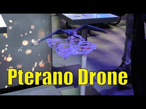 Jurassic World Pterano-Drone facile Flying RC Drone for Kids réalistes Pteranodon
