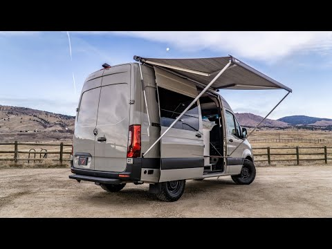 The Ultimate Adventure Van Conversion *Full Video Tour* (Titan Custom: Metis)