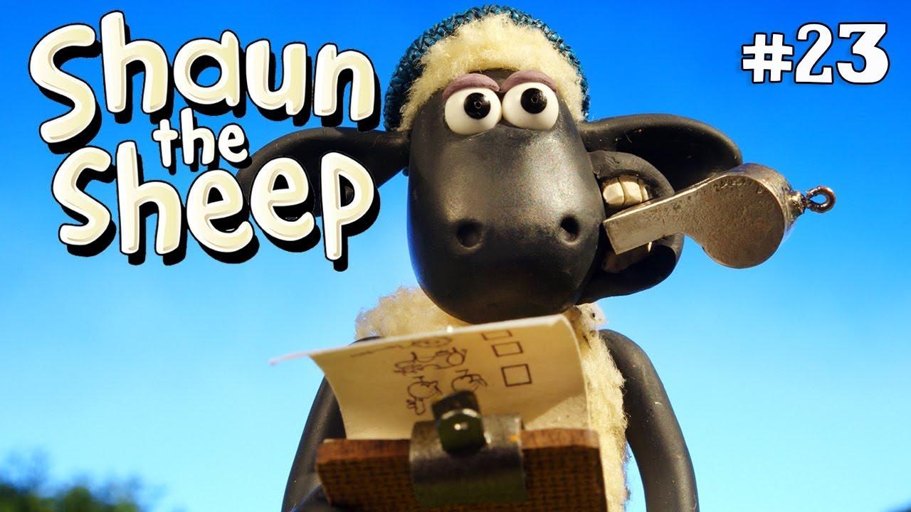 Sehari bersama bitzer - Shaun the Sheep [Bitzer for a Day]