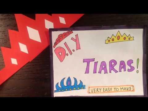 Easy Paper Tiara