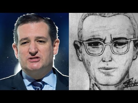 Is Ted Cruz the Zodiac Killer?