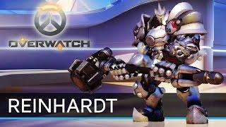 (EVA GAMER) Overwatch : Reinhardt แทงค์โดนใจ หัวใจโดนเธอ