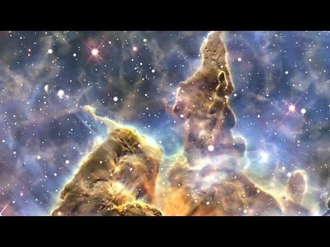 hubble universe in motion