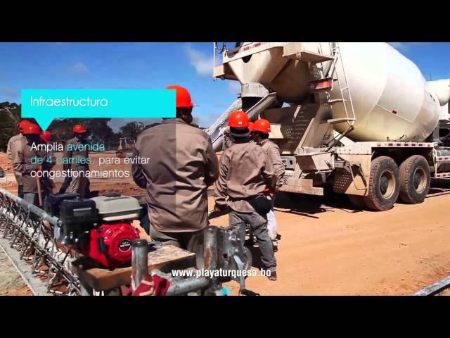 Avance de Obras Abril 2016 - Playa Turquesa