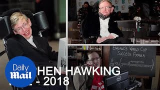World-famous scientist Stephen Hawking dies at the age of 76 - Daily Mail