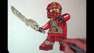 How to Draw #Kai#Ninjago#LEGO