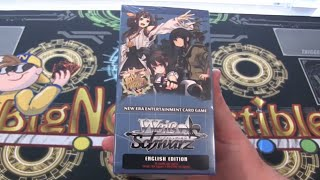 Weiß Schwarz Kantai Collection Box Opening