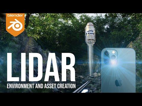 LiDAR Scanning in Blender - Environment and Asset Creation in-Depth Tutorial