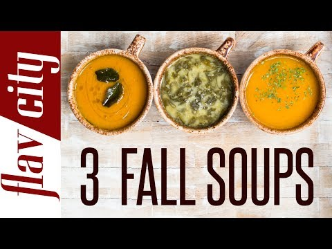3 Healthy Soup Recipes For Fall - Vegan & Gluten Free