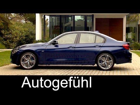 Preview new BMW 3 Series Facelift BMW 3er Interior Exterior Limousine/Sedan & Touring 2016
