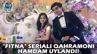 """""""Fitna"""" seriali qahramoni Hamdam uylandi!"""
