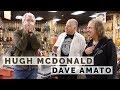 Hugh McDonald From Bon Jovi & Dave Amato From REO Speedwagon Visits Norman's Rare Guitars