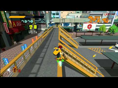 Classic Game Room - JET SET RADIO review for PS3