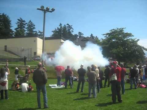 Canada Day Cannons / Salt Spring Island