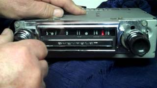 1966 C10 Chevy Truck Original AM Radio Conversion