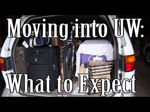 Moving into the University of Washington (specifically, McMahon Hall south tower