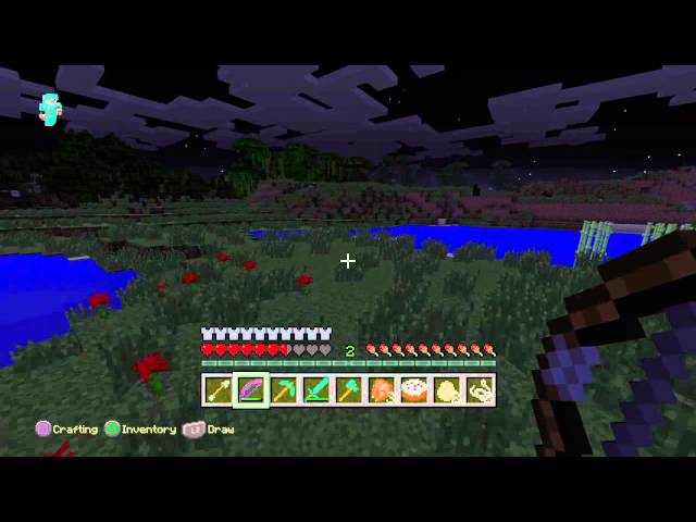 Minecraft: PlayStation®4 Edition battling the wither
