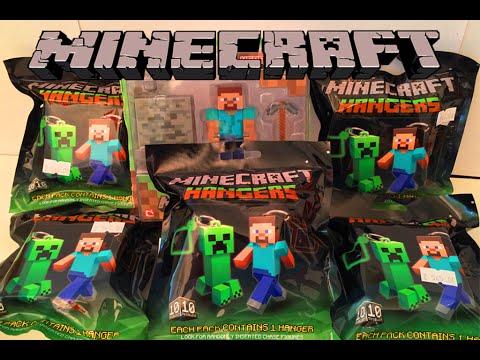 Майнкрафт Игрушки Сюрприз,Minecraft Toys Unboxing как Киндеры