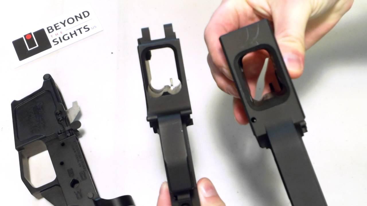 ar 9mm glock lowers youtube