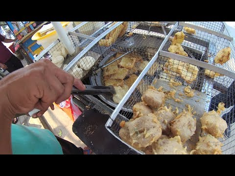 Indonesia Rangkasbitung Street Food 2529  Part.1 Gorengan YDXJ0812