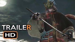 Sekiro: Shadows Die Twice Trailer (E3 2018) Japanese Action RPG Video Game HD