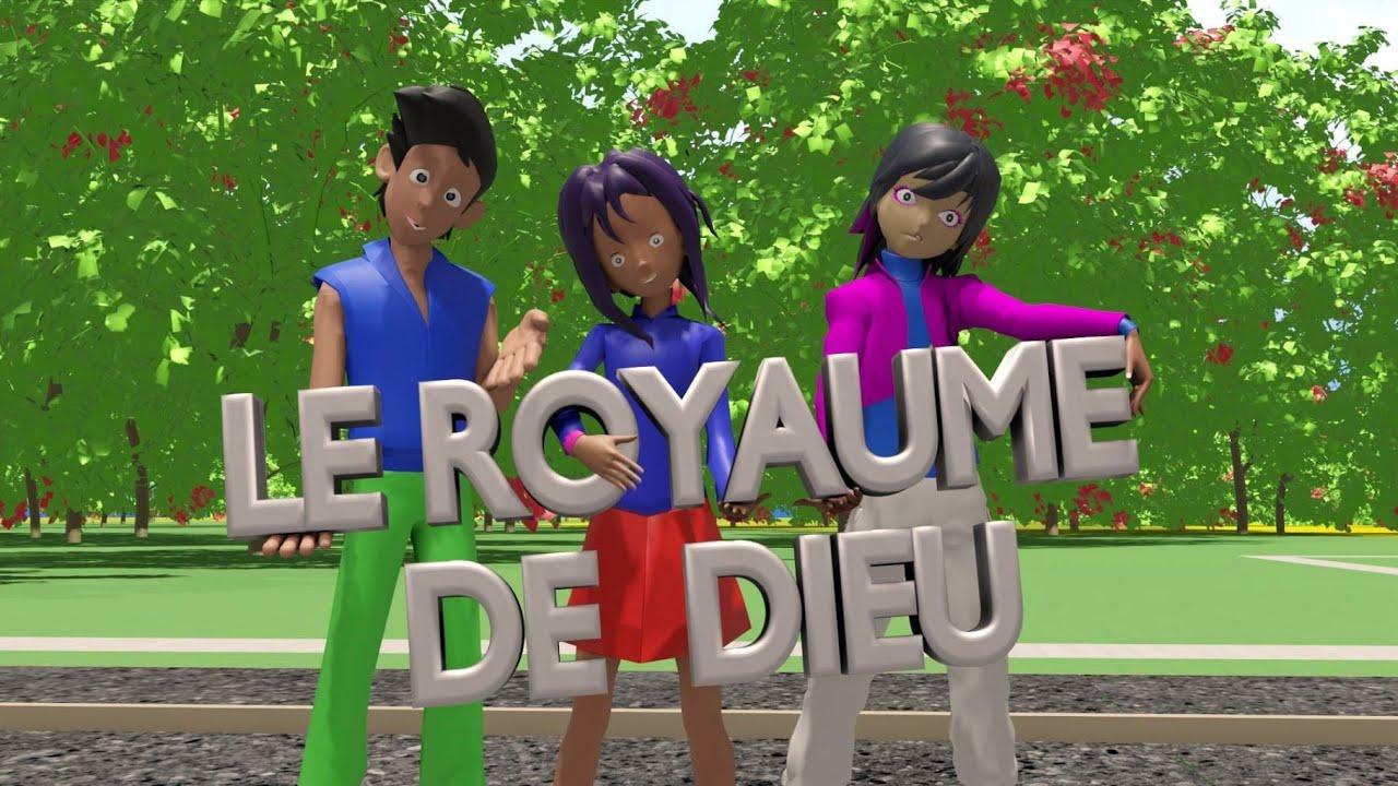 KINGDOM KID'S: 2ème Film: LE ROYAUME DE DIEU - Film Dessin Animé en français. Sous titré en Ang