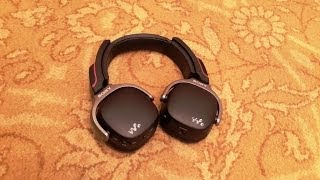 Sony NWZ WH303 Review: Walkman Headphones Hands-on First look