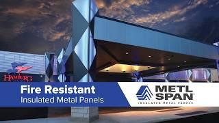 Metl-Span I Fire Resistant Market Application