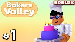 THE START TO BAKERS VALLEY - #1 | Roblox