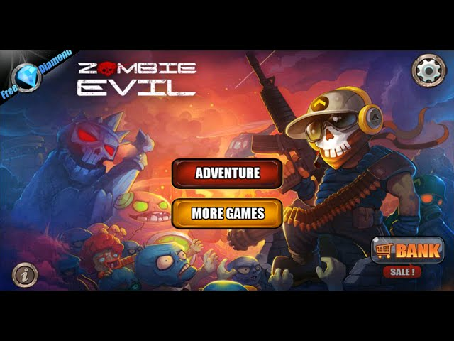 Game Zombie Evil para Android PT-BR