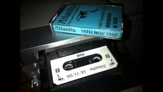 Atlantis 16-11-96 Dj Sub Mc Marcus Robbie E and 3-Style