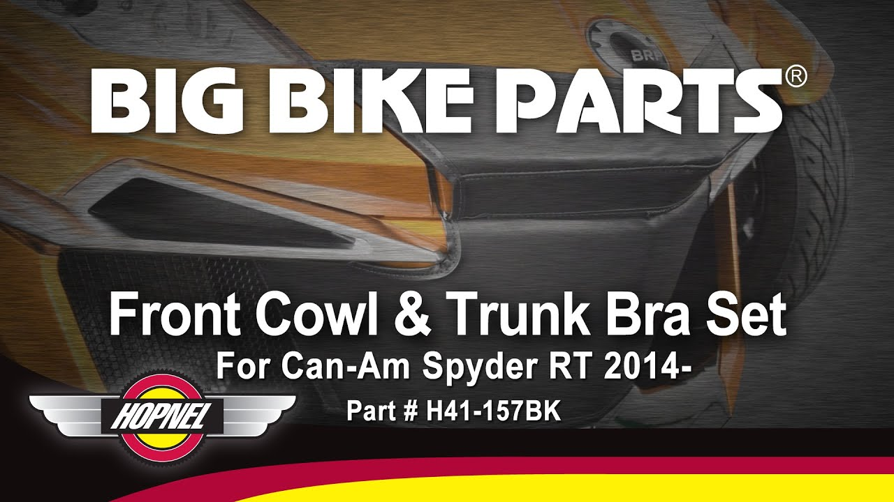 Hopnel H41-158BK Front Cowl and Trunk Bra Set