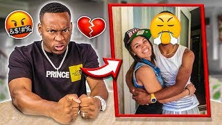 HUSBAND REACTS TO OLD PHOTOS OF WIFE & HER EX BOYFRIEND!!