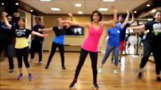 Zumba® Choreography By Vijaya on Manali Trance (The Shaukeens)