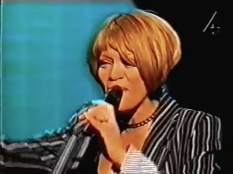 Whitney houston : swedish talk show interview and Performance