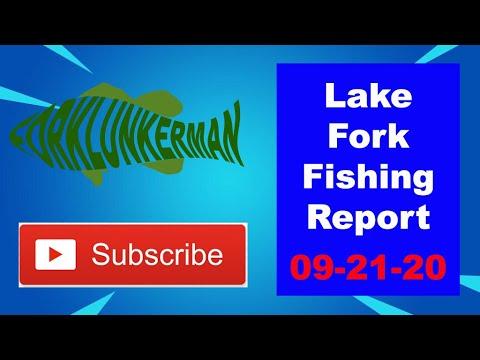 Lake Fork Fishing Report 09-21-20