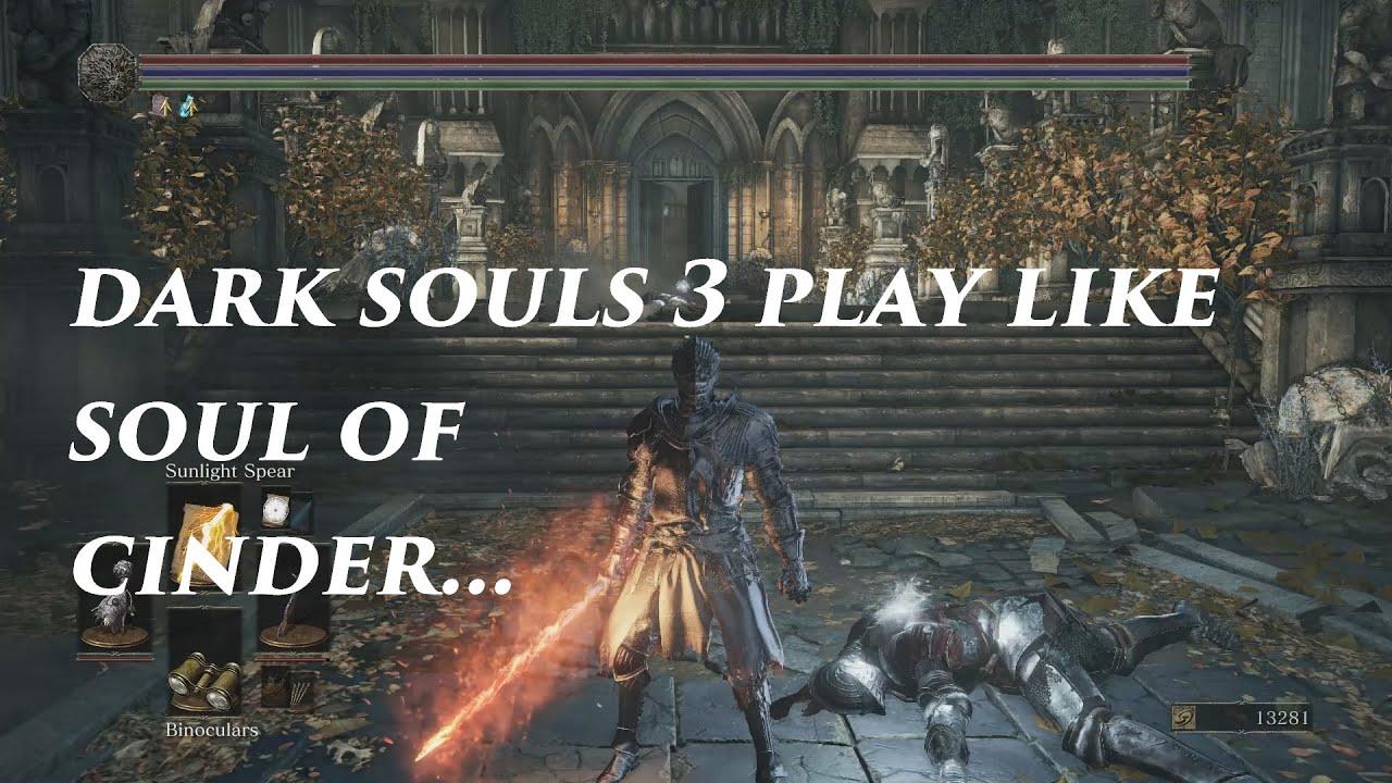 Dark Cinder Souls Soul