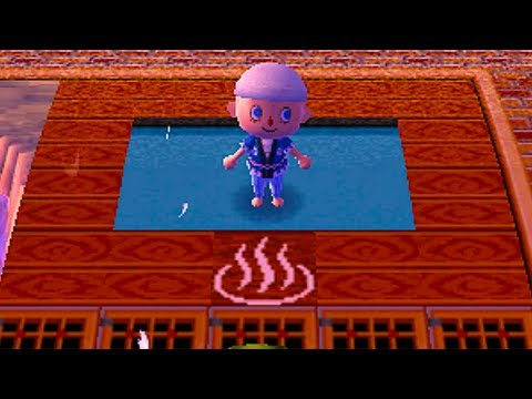 Dream diary animal crossing new leaf spa getaway for Animal crossing new leaf arredamento
