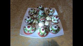 ЗАКУСКА КЛАСС!!! Творог, зелень... Новогоднее блюдо №5